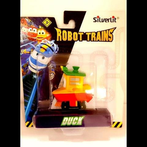Robot Trains Duck Diecast by Silverlit