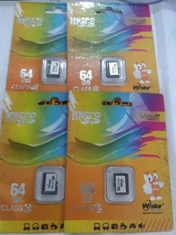 Micro sd wstor 64gb clas 10 lifetime