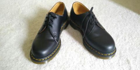 Dr. Martens 1461 Black Smooth 3 Hole