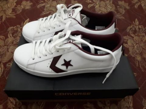 converse leather pro size 42