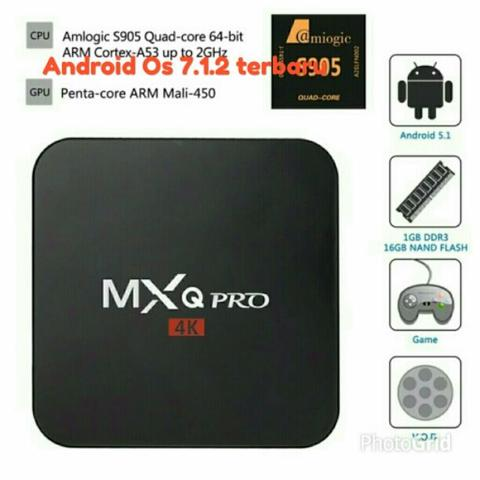 MXQ pro android 7.1.2 media player stb tv box new arrival