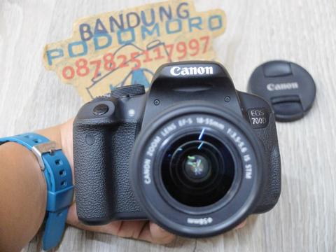 Jual CANON 700D dgn 18-55 IS STM - BANDUNG