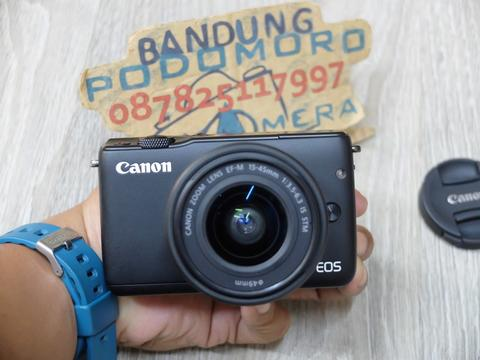 Jual CANON Eos M10 dgn 15-45 is STM - BANDUNG