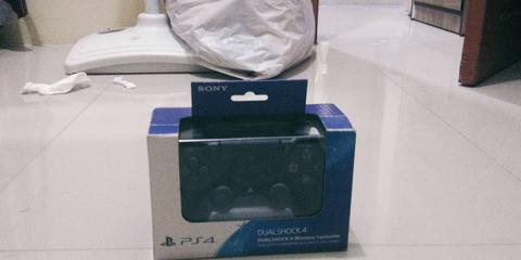 JUAL Controller PS4 Warna hitam new model murmer