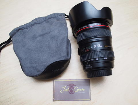 [JOEL] CANON EF 24-105mm F4 L IS, Kode UX, No box @STCsenayan