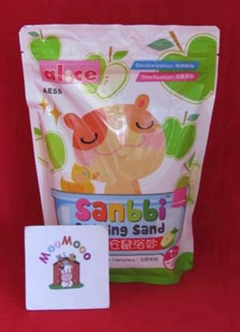 Alice Sanbbi Bathing Sand Apple 1 Kg - Pasir Mandi Hamster