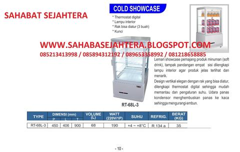 COLD SHOWCASE