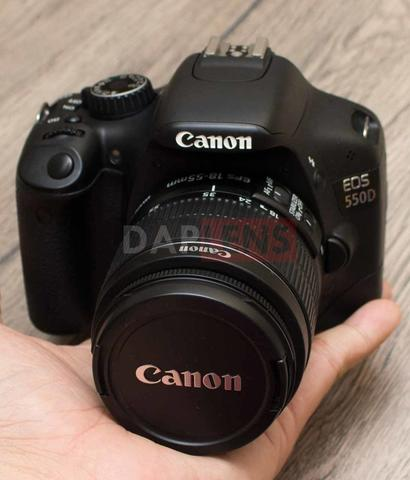 [DAPLENS] Canon EOS 550D kit 18-55mm IS II Bonus MEMORY