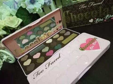 Eyeshadow Too Faced Chocolate Bon Bons