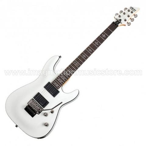 [IMAGINATION MUSIC STORE] Schecter Demon-6 FR VWH Vintage White