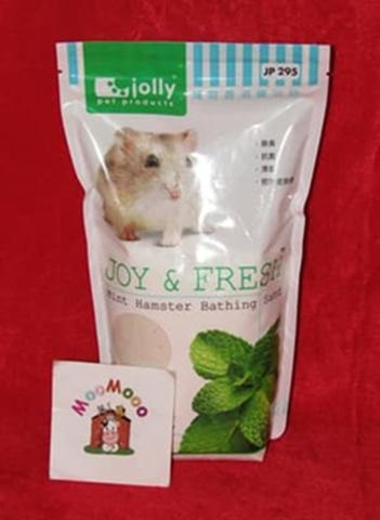 Jolly Bathing Sand Mint 1 Kg - Pasir Mandi Hamster