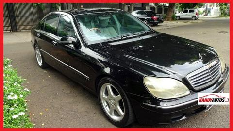 Mercedes Benz S320 AT Sunroof Full Spec Hitam - Handy Autos