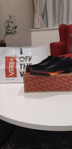 "Vans Old Skool ""Flame Wall"" Edition"