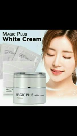 MAGIC PLUS WHITE CREAM (((FREE 3G X 5 SACHET)))