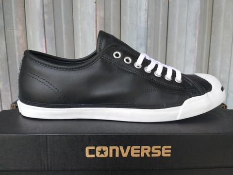 Converse Jack Purcell LP Leather Black White 158865C ORIGINAL
