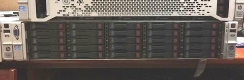 PC SERVER HP DL380 G8 Xeon E5 192GB 28,2TB