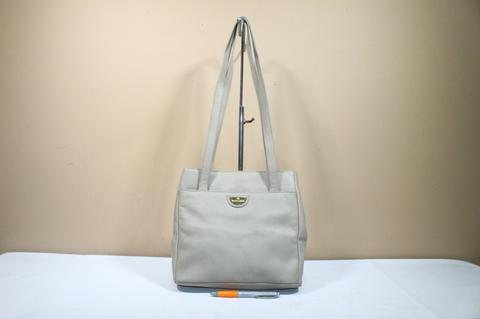 Tas wanita branded AIGNER Vintage shoulder bag second original