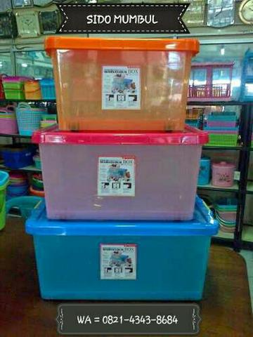 Kotak Plastik Parcel Marvelous Master Melody Box Maspion