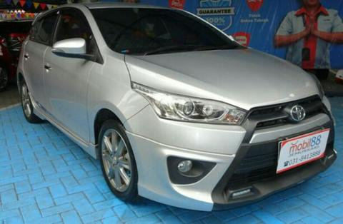 Toyota Yaris S Trd At 2014 Silver low km