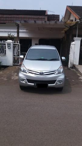 Toyota Avanza G manual Th 2015 Silver Ors Cat