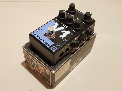 AMT V1 Vox Preamp Pedal Made in Russia
