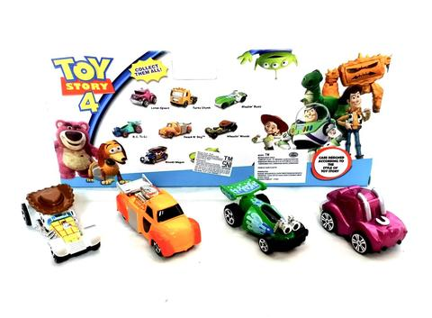 Diecast Car DC Mobil Hotwheels Toys Story 4pcs Limited Edition Stock (999-28)
