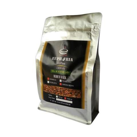 Euphoria Coffee : Green Bean Arabica Aceh Gayo (1kg)