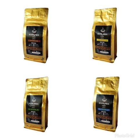 Euphoria Coffee : Paket Specialty Kopi Arabica 4 pack x @200g