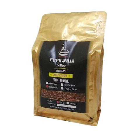 Euphoria Coffee : Specialty Coffee Robusta Sidikalang (500g)
