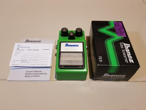 Ibanez Tube Screamer TS9 Made in Japan Mulus Fullset