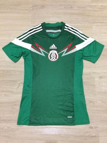 Jersey Mexico Home WC World Cup 2014