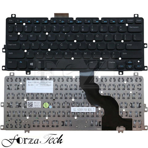 Keyboard DELL Inspiron 11 3157 11 3152 11 3000 2-in-1 Dell XPS 10 V136602AS1
