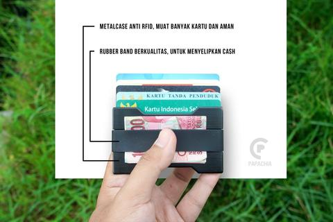 Money Card Clip Modern Wallet Anti RFID