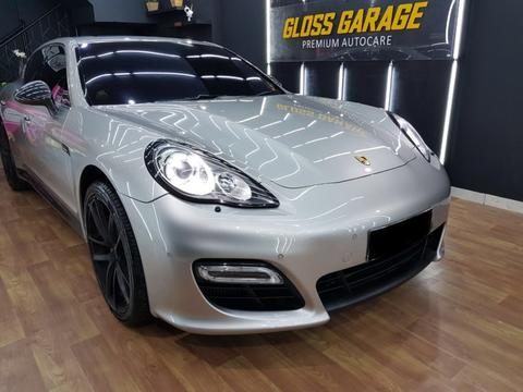 PORSCHE PANAMERA TURBO SILVER ON BROWN 2010