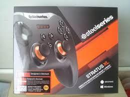 Steelseries stratus xl gaming wireless controller for windows and android