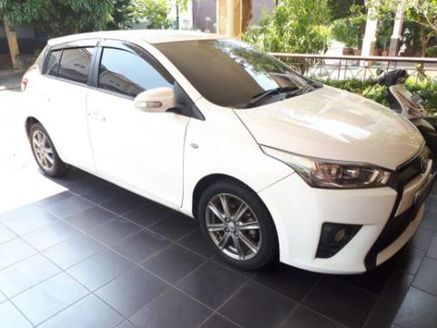 All new yaris G 2014 A/T pajak desember 2018