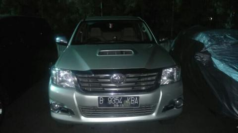 HILUX 4x4 double cabin 2014
