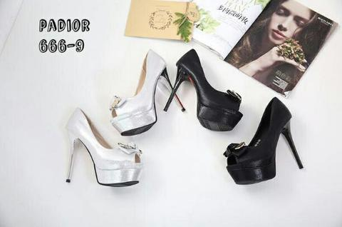 Padior Women Styles High Heels Open Toe Shoes Original SZD#666-9