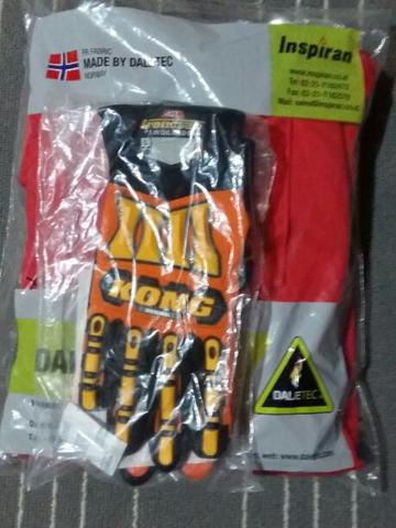 Coverall daletec New model size XL