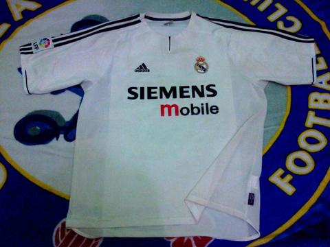 Jersey Home Real Madrid 03 Original