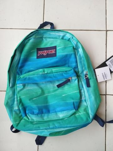 jansport superbreak ocean ombre