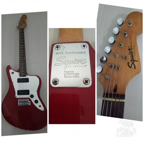 Squier fender anniversary 20th freedom expresion #gibson epiphone ibanez