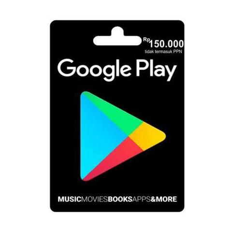 Voucher Google Play 150.000