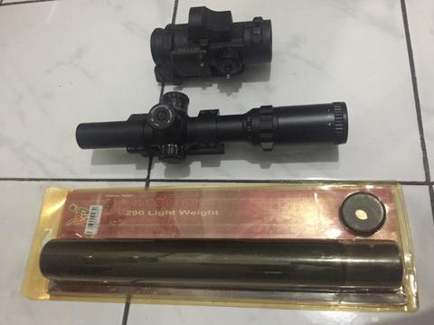 Elcan spc.dr - Scope buntung - silencer