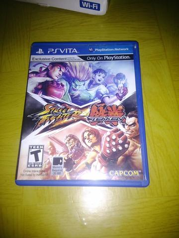 Game ori ps vita street fighterXtekken