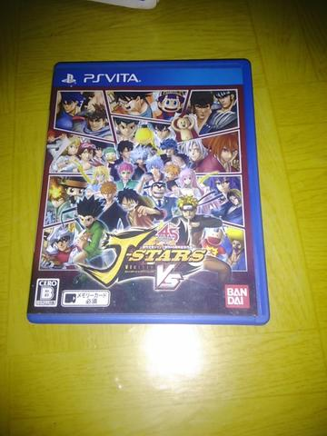 Game ori ps vita J-Star VS bahasa jepang