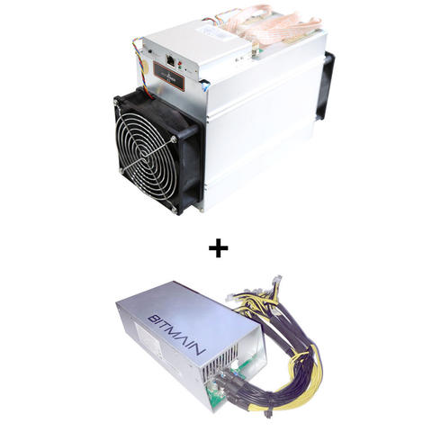Antminer L3+ 504 MH/s include PSU PO 11-20 Juni 2018