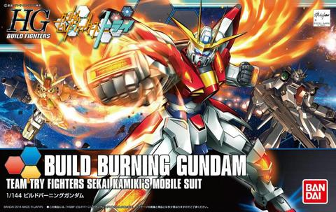 HG / HGBF 1/144 BG-011B Build Burning Gundam - Gundam Build Fighters
