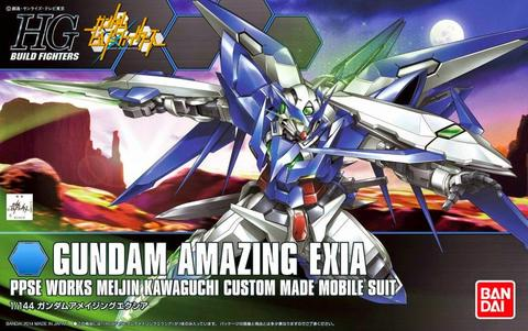HG / HGBF 1/144 PPGN-001 Gundam Amazing Exia - Gundam Build Fighters