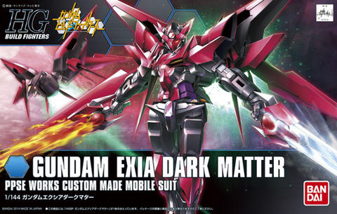HG / HGBF 1/144 PPGN-001 Gundam Exia Dark Matter - Gundam Build Fighters